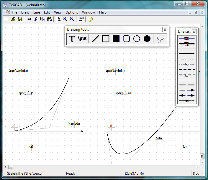 TeXCAD 4 51 for LaTeX pictures